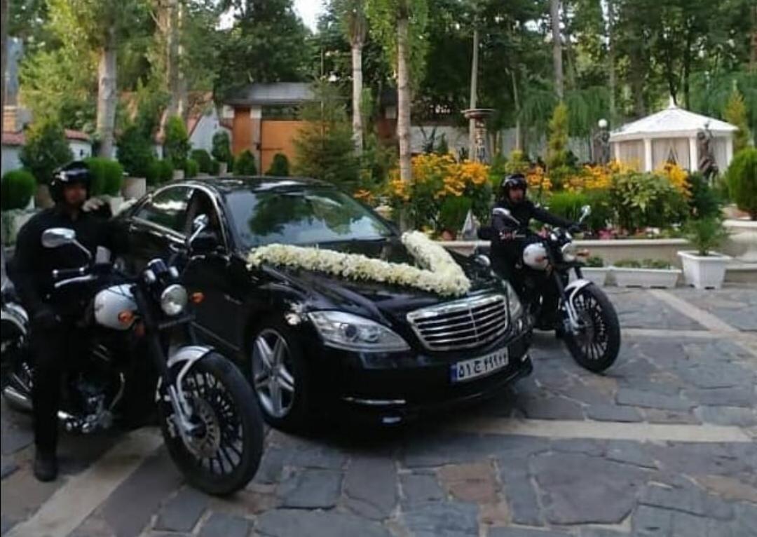 اسکورت ماشین عروس