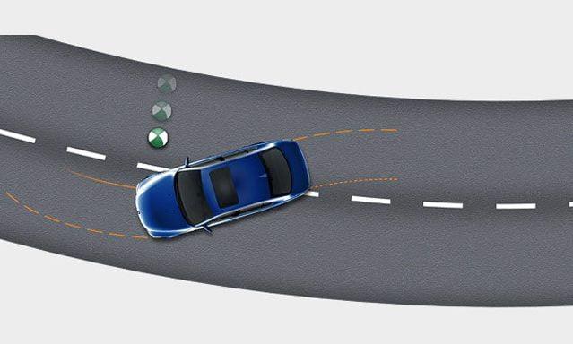 کنترل ترمز های خودرو در پیچ