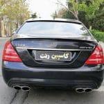 اجاره بنز S500 در تهران